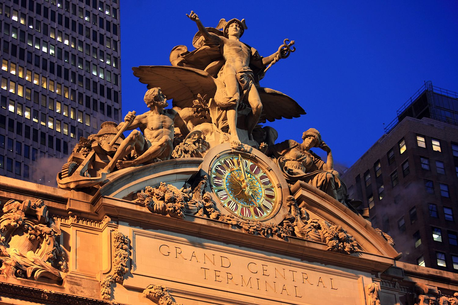 Grand Central Terminal (outside)