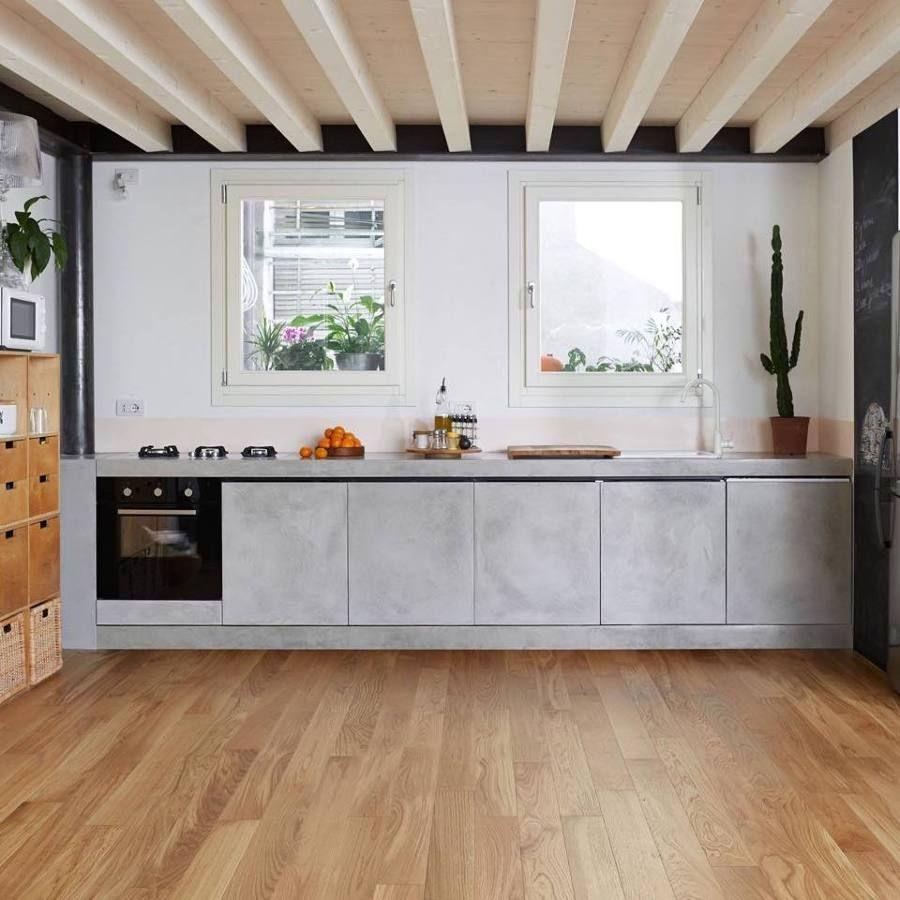 Gallery of ante cucina legno grezzo - Parquet In Cucina Opinioni ...