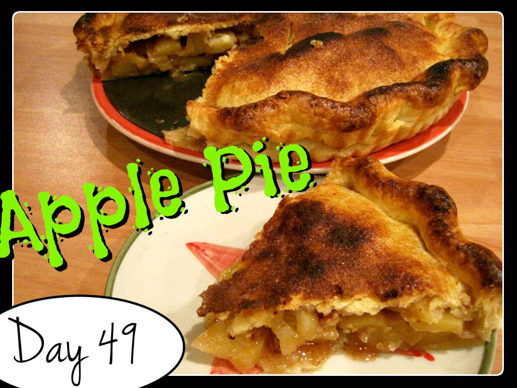 Laura's Apple Pie [DAY 49] ★ watch the video: http://youtu.be/ktbaPx1EFAE ★  I'm trying A NEW RECIPE OF Laura in the Kitchen EVERY DAY and sharing its conversion into the metric system, come and join me on my yummy challenge! :)