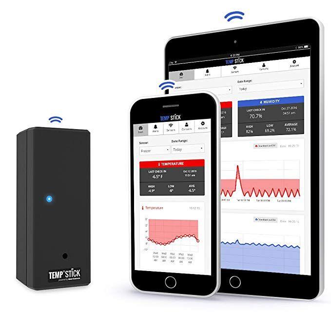 Temp Stick Wireless Temperature Sensor + 24/7 Monitoring