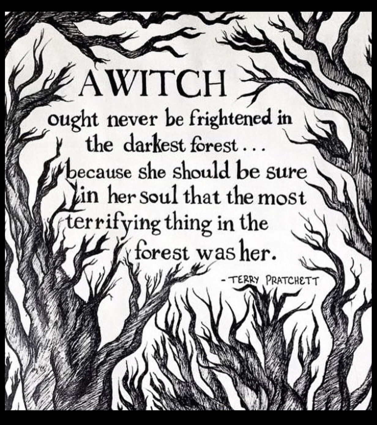 Wicca · Witch QuotesDark ForestHalloween ...