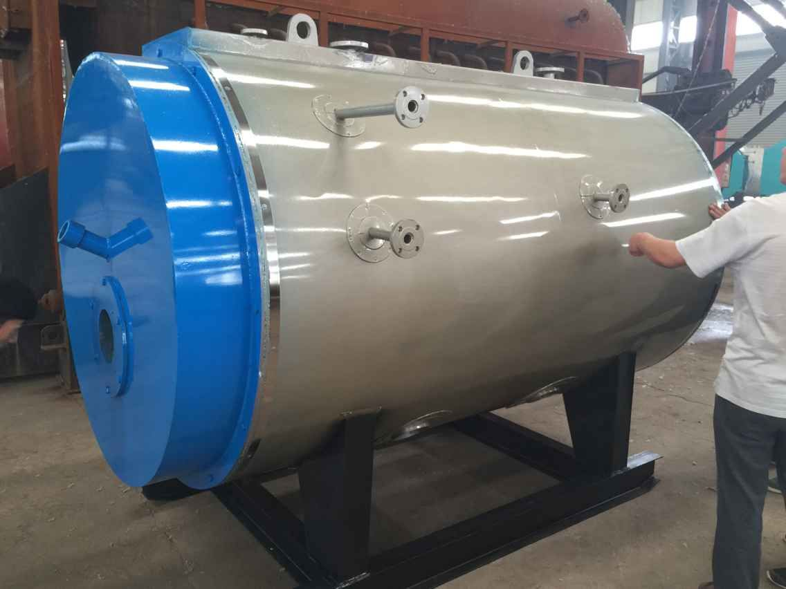 waste oil fired boiler WNS2-1.25-YQ industrial steam boiler ...