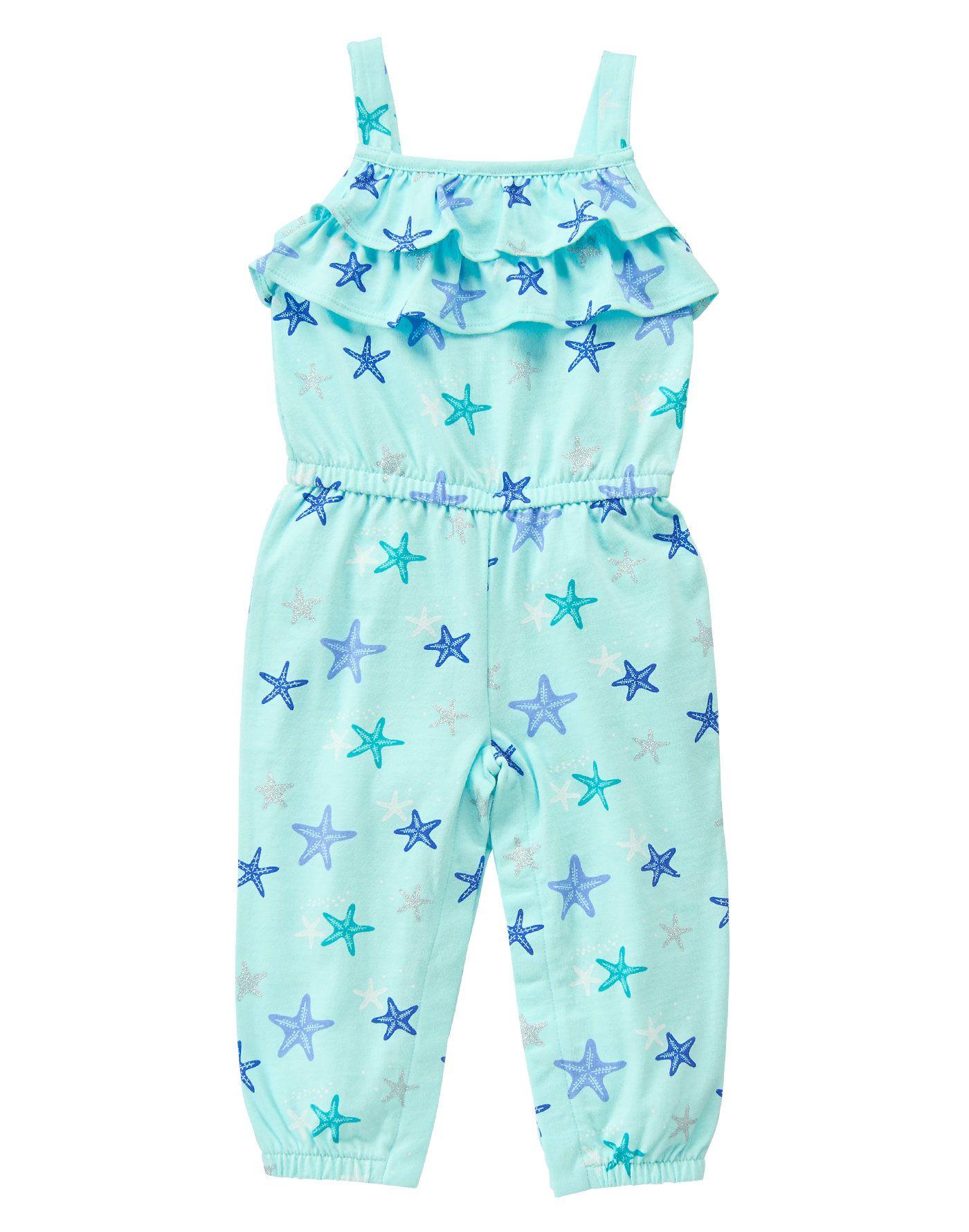 fbb1462c9 Starfish Romper My Little Baby, My Baby Girl, Girly Girl, Toddler Rooms,