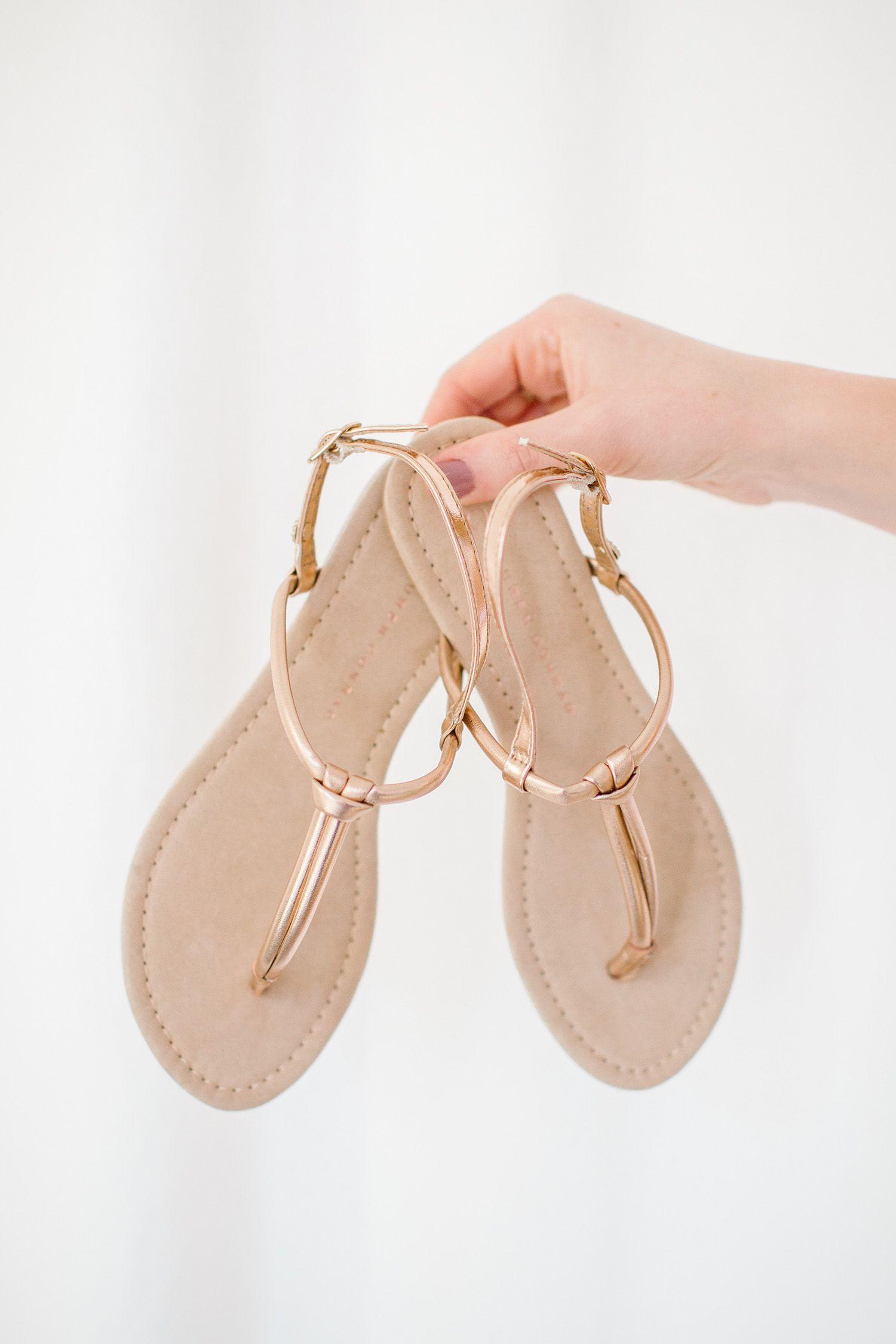 1c3cada29696 Women s LC Lauren Conrad Basic Knotted T-Strap Sandals