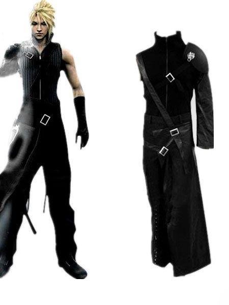 Final Fantasy VII Cloud Strife Men\u0027s Cosplay Costume