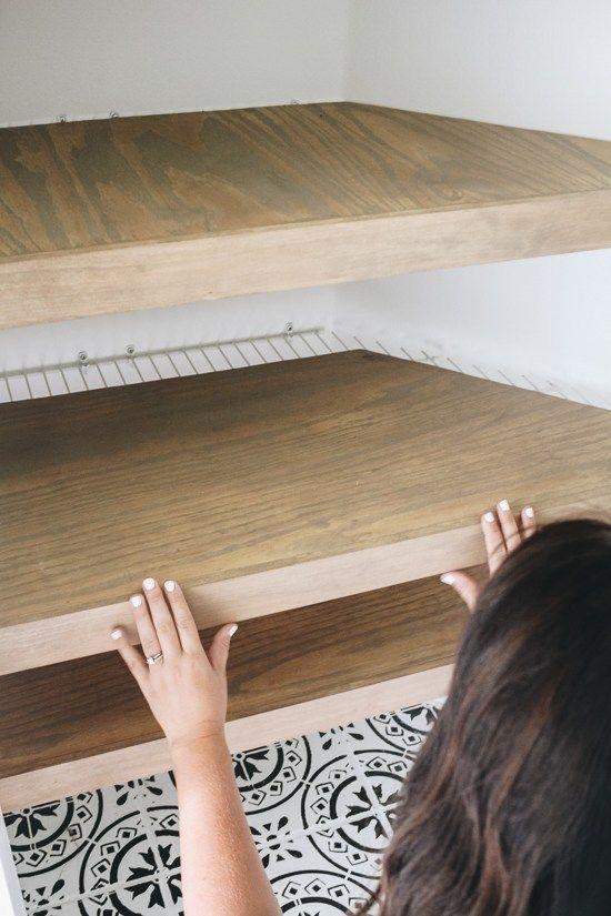Diy Faux Floating Shelves Floating Shelves Diy Diy Home