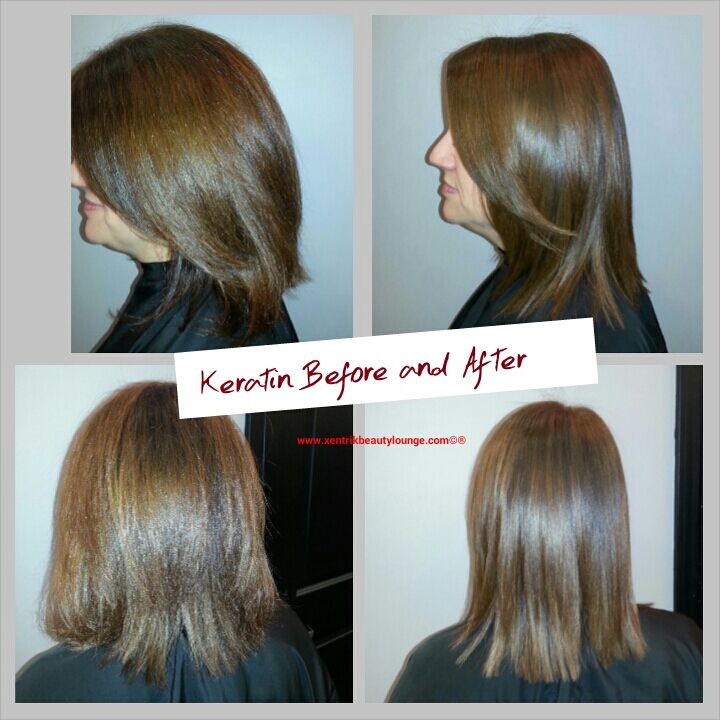 Before And After Keratin Complex Keratin Treatment Redken Color