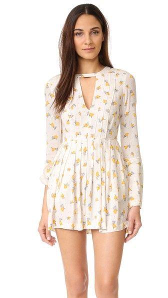 bfa0010cc2e7e FREE PEOPLE Tegan Printed Mini Dress. #freepeople #cloth #dress #top #shirt  #sweater #skirt #beachwear #activewear