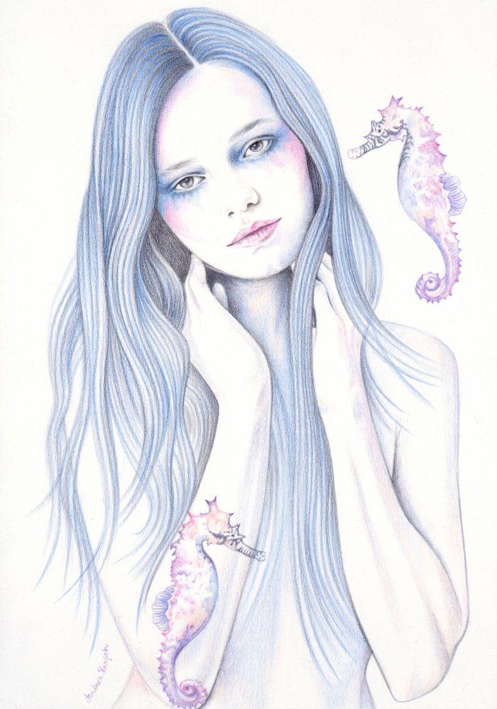 Seahorses by Andrea Hrnjak