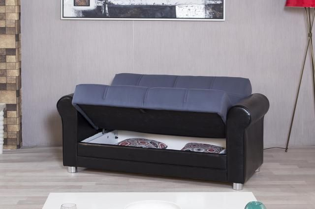 Best 47 Deluxe Convertible Loveseat for Comfortable Sofa bed ...