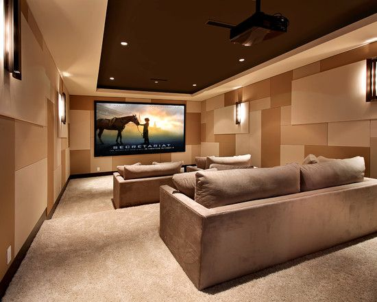 Media Room Design Pictures Remodel Decor And Ideas Page 3 Pin For Pinterest For The