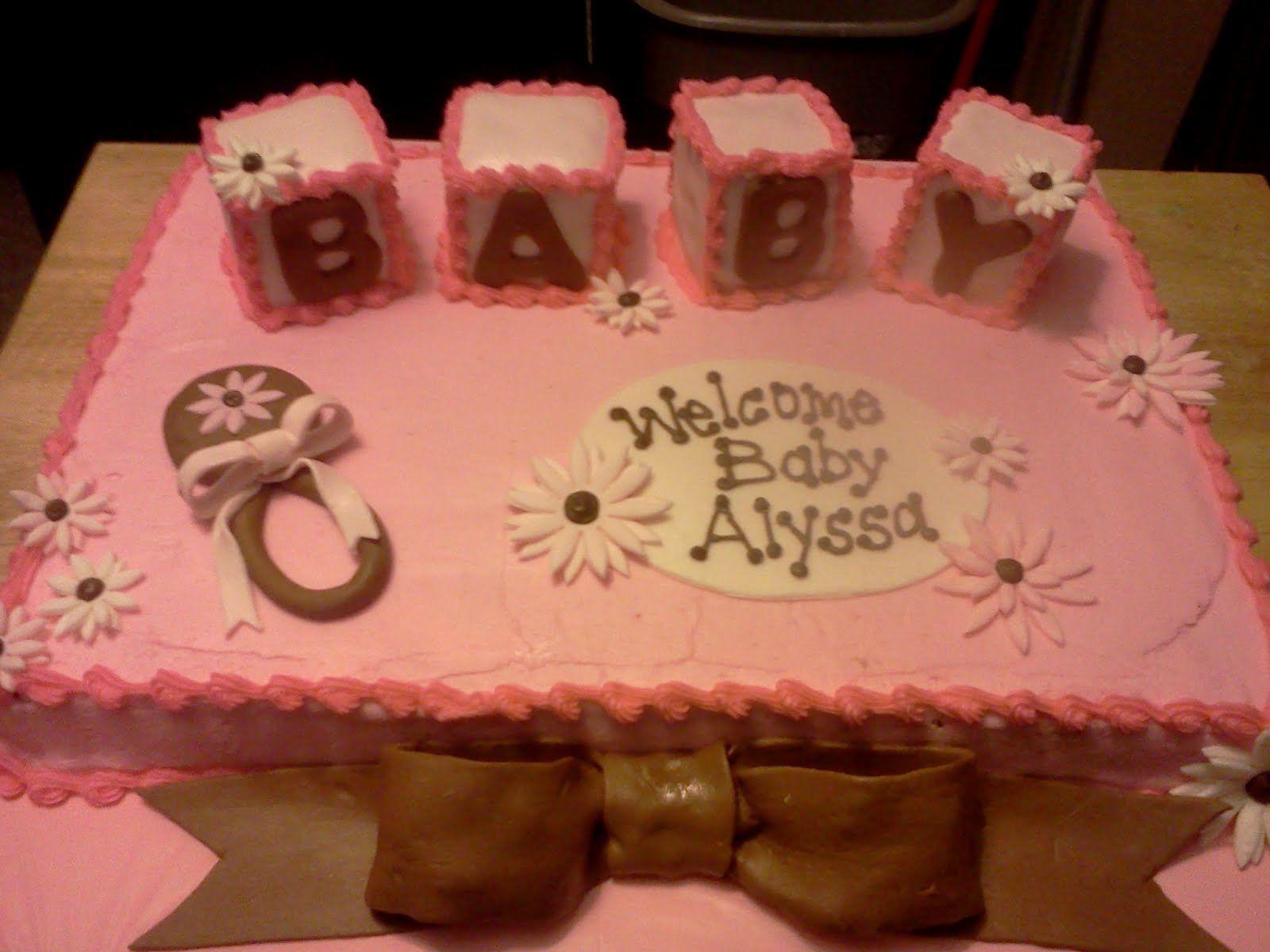Cake · Kroger Baby Shower ...
