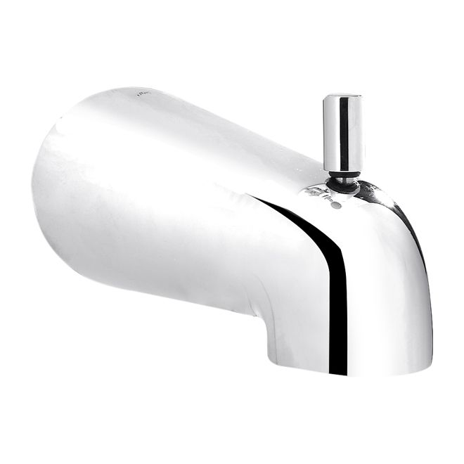 Plumbpak Slip On Bathtub Spout With Diverter 5 3 4 Chrome