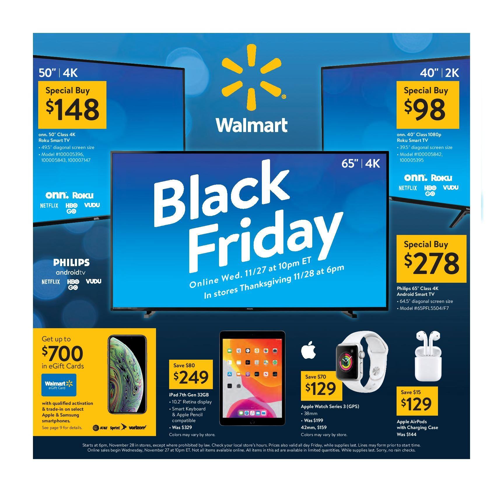 Walmart Black Friday 2019 Ad, Deals & Sales