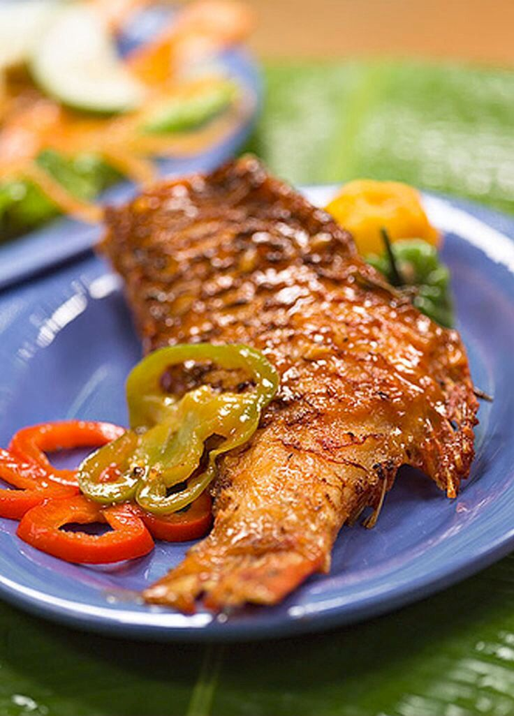 Escovitch Fish In A Spicy Vinegar Marinade Another Delicious Jamaican Recipe Jamaican