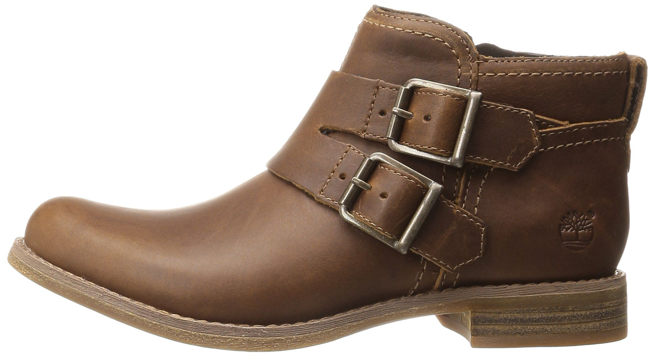 Timberland Womens Savin Hill Double Buckle Ankle Boot Wheat Forty 9 M US ***