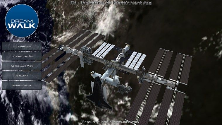 International Space Station // Photorealistic real time