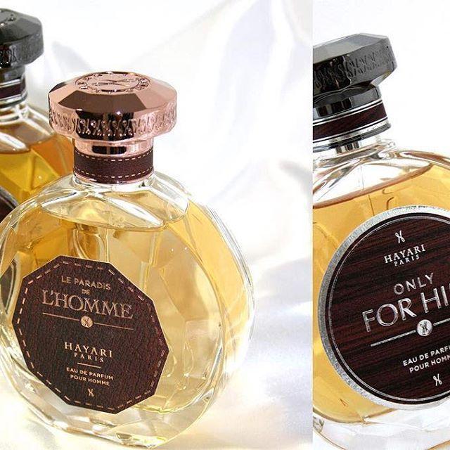 Only For Him & Paradis de l'Homme (2015) | First men fragrance HAYARI Paris | Graphic design labels @studio.blacksensitive #hayari #onlyforhim #paradisdelhomme #menfragrance #perfumes #nabilhayari