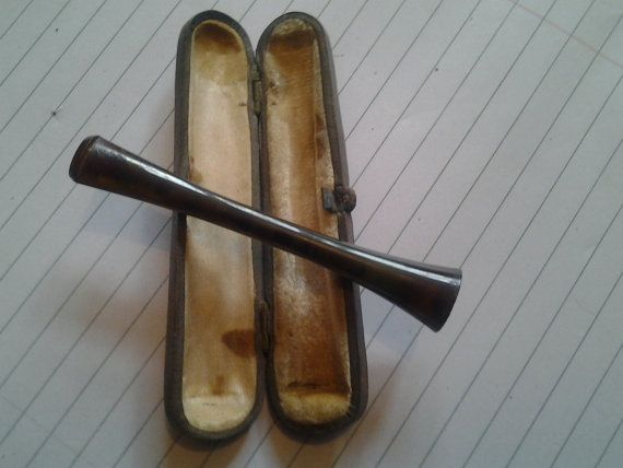 cigarette holder in original case by wrightjewels on Etsy, £10.00