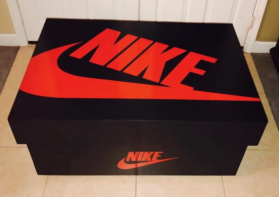 box chaussure nike