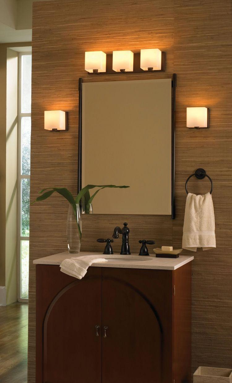 Luminaire salle de bain: idées en 22 photos splendides! | luminaire ...