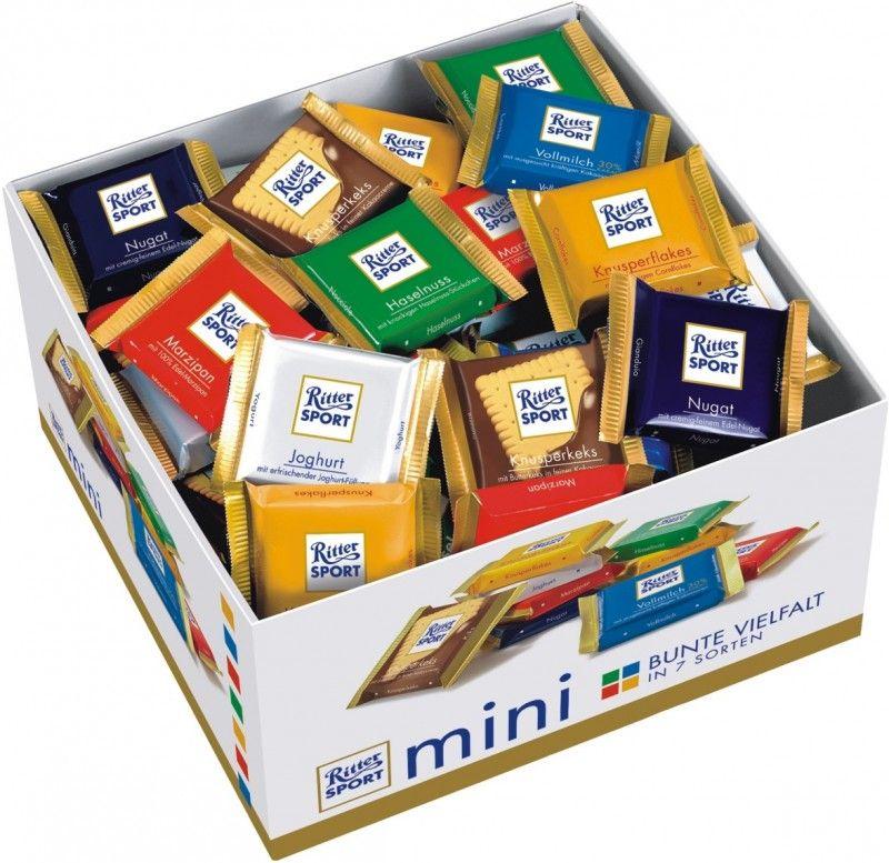 Ritter Sport Mini, Schokolade, 84 Tafeln Sport, Eten, Mini