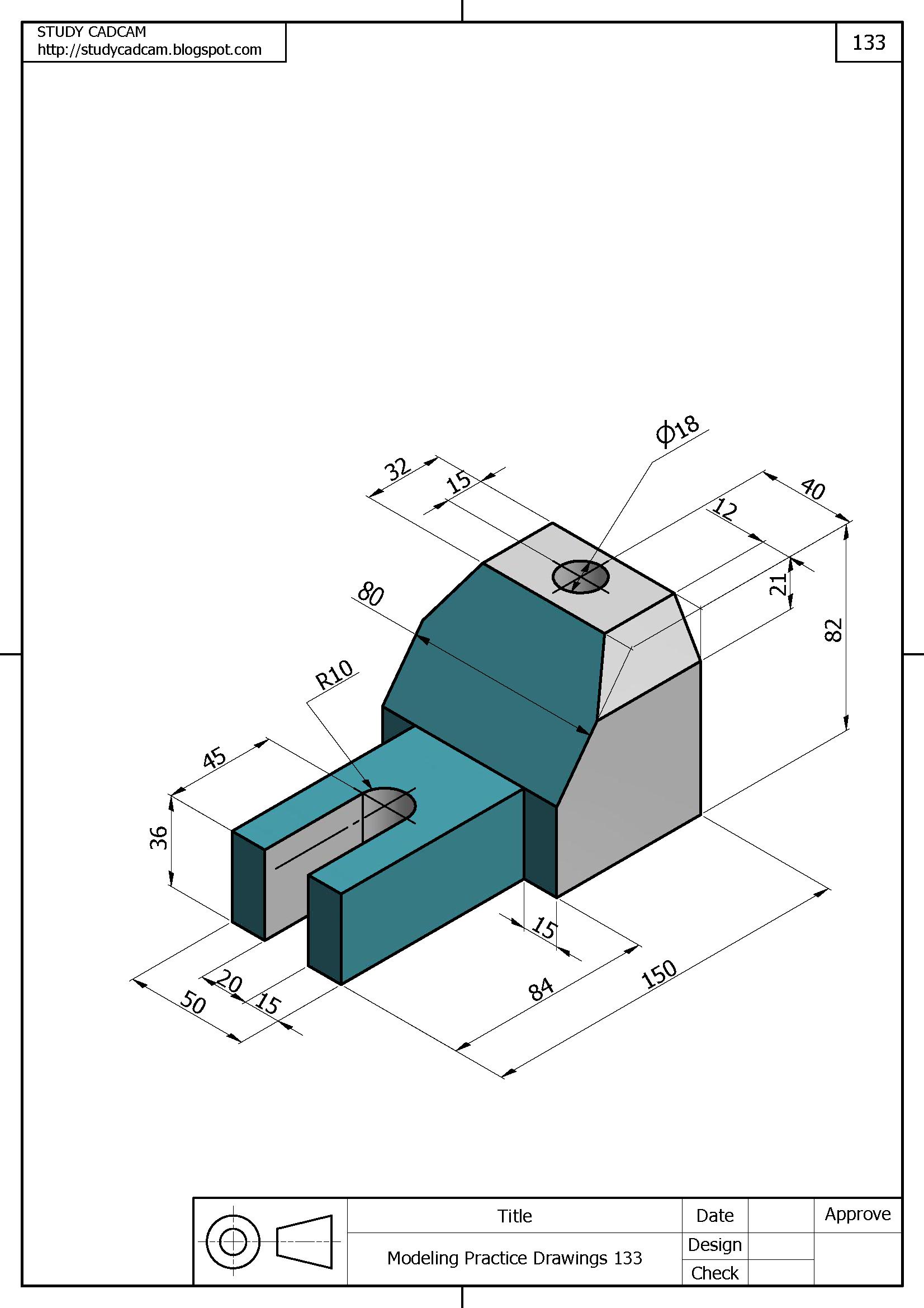 Imagen De Studycadcam En 3d Modeling Practice
