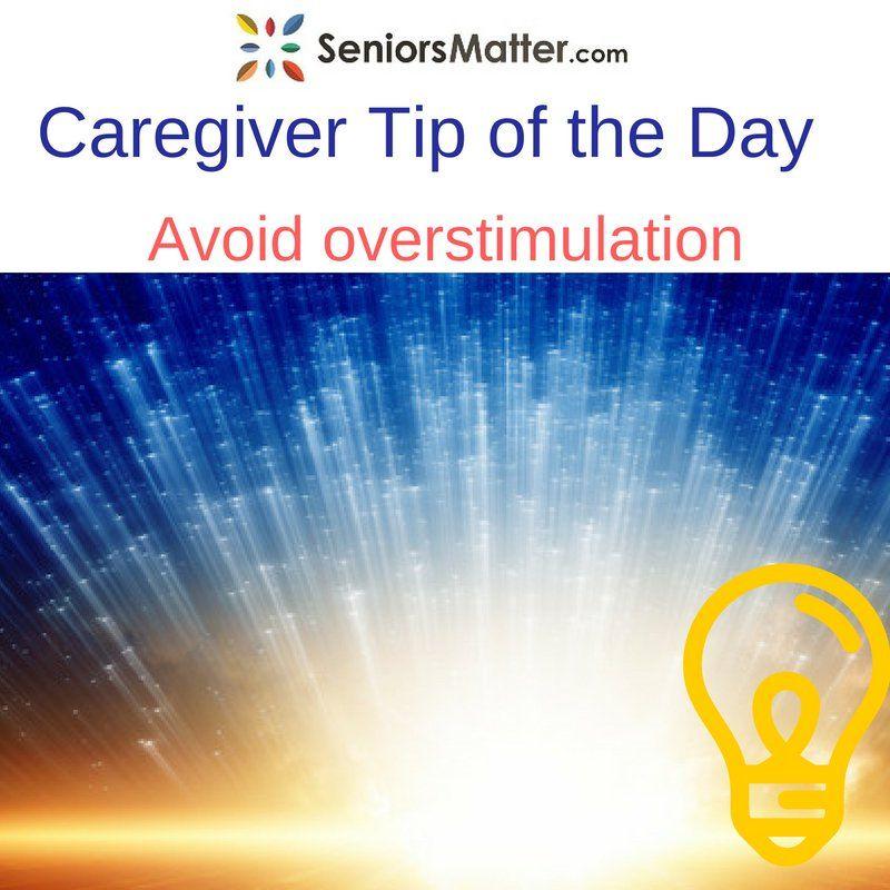 Caregiver tip of the day seniorsmatter