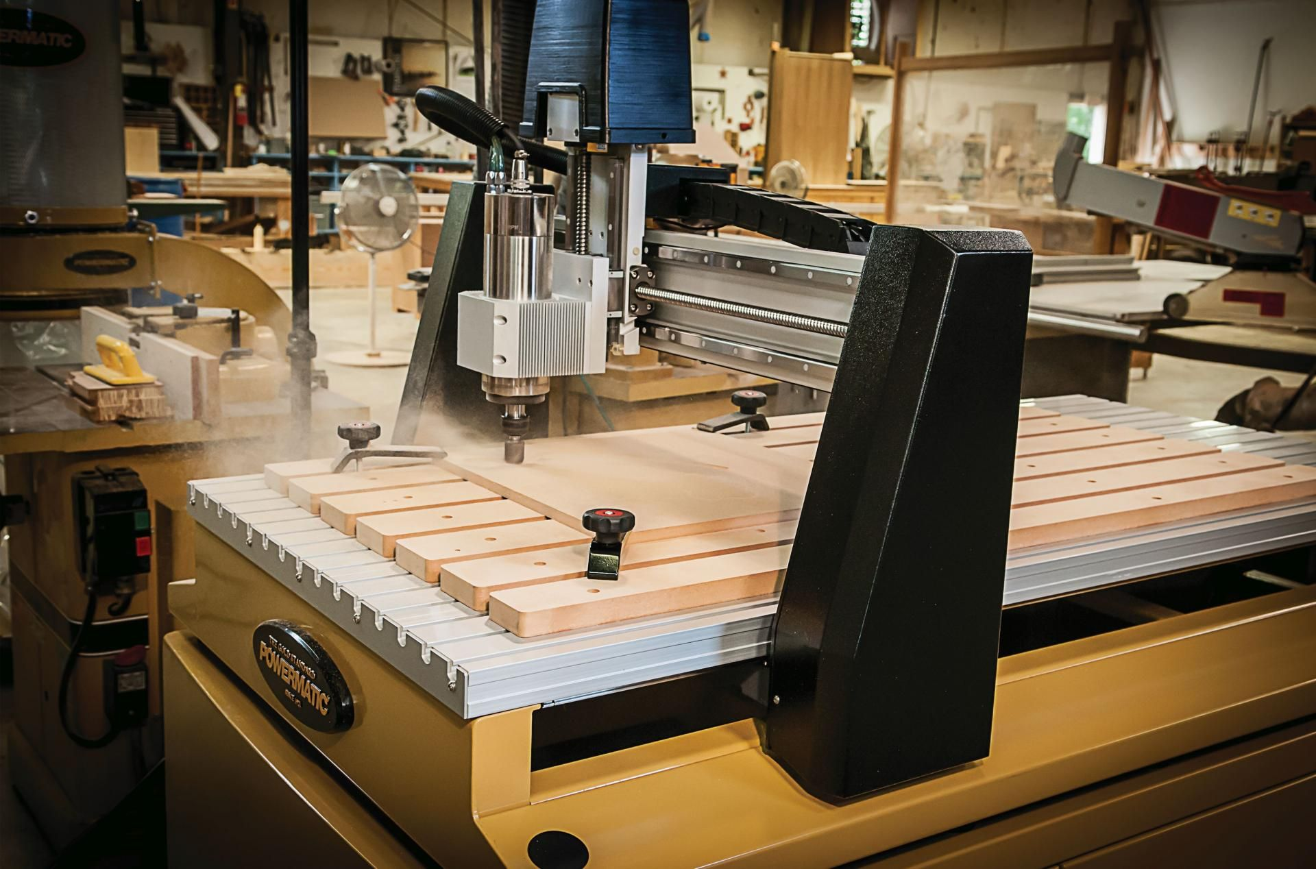 Powermatic launches 3-axis CNC routers | Tools, Jigs & Hardware | 3
