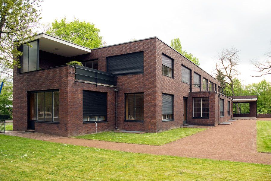 Mies Van Der Rohe Haus Esters Factory House Styles Rendered
