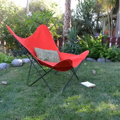 Outdoor Furniture: Butterfly Chair (cover U0026 Frame)   Canvas Style   Potted  Los