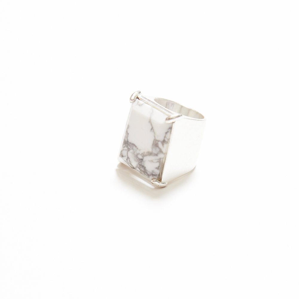 3768f95212725 Maison Margiela | Silver Marble Ring in 2019 | INSPIRATION-JEWELLERY ...