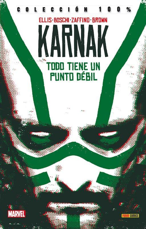 Karnak: Todo tiene un punto débil. Cómic Marvel de Warren Ellis y Gerardo Zaffino.  http://nuevavalquirias.com/karnak.html #Karnac