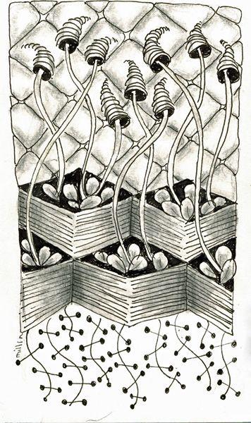 Millin Vakka Zentangle Muster Zentangle Bilder