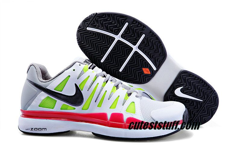 separation shoes f6da9 49e09 Nike Zoom Vapor 9 Tour Pro Platinum Black Cool Grey Action Red 488000 001