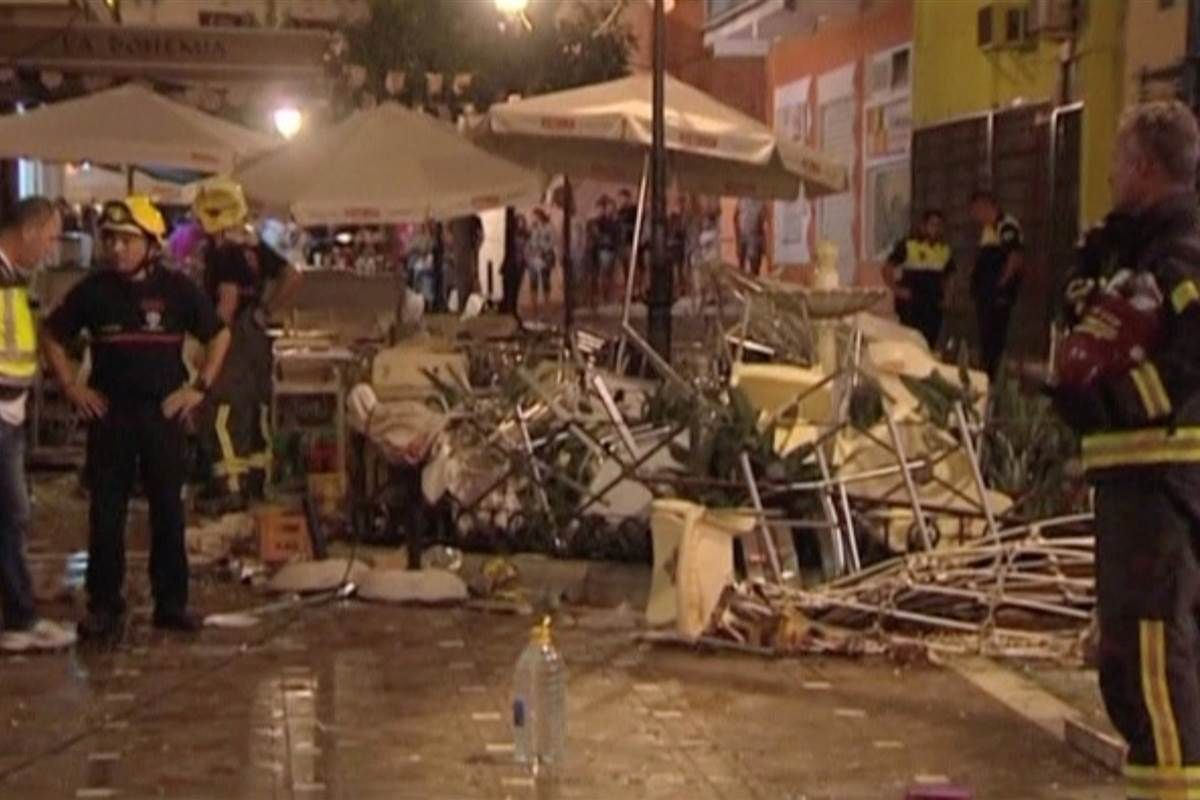 At Least 77 Hurt After Gas Cylinder Explodes in Southern Spain - NBCNews.com