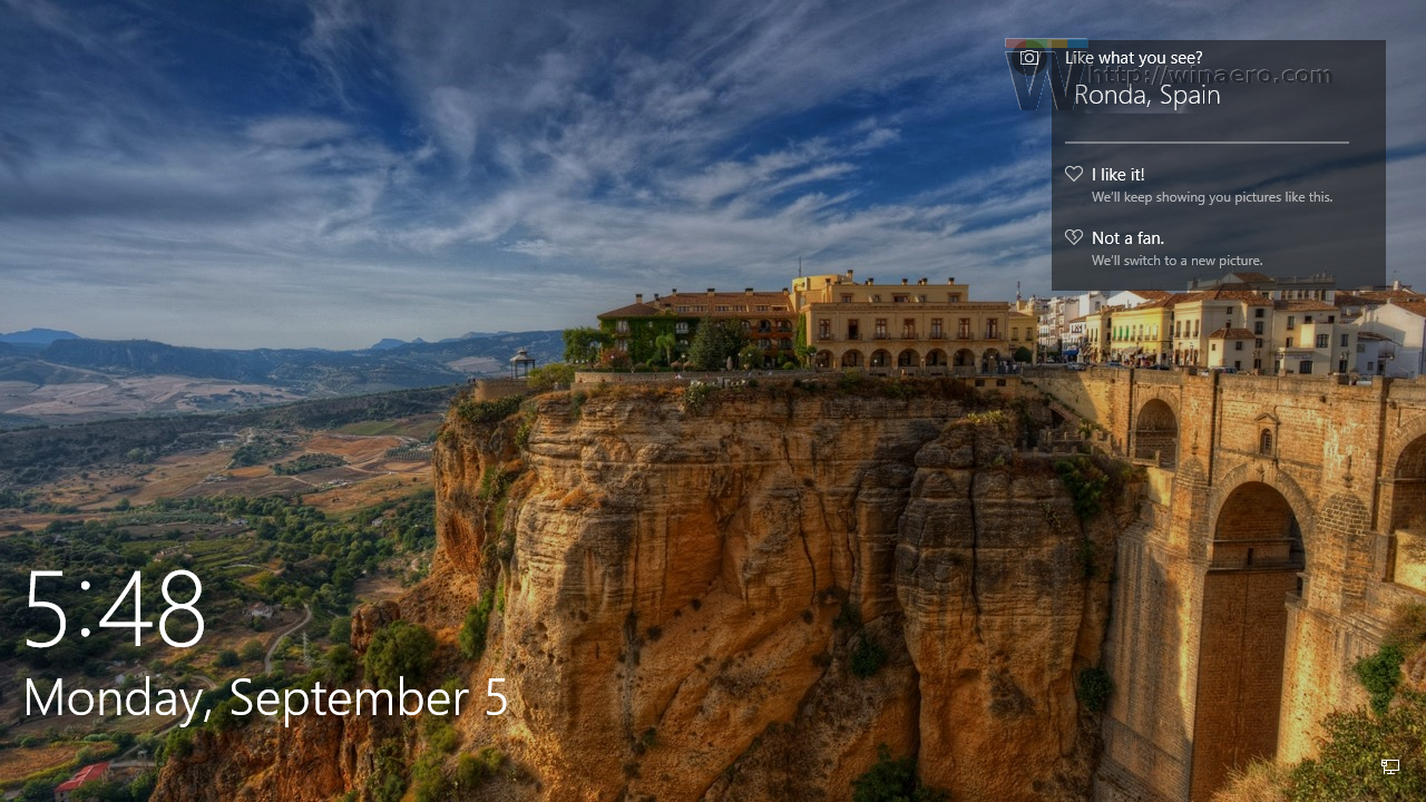 windows 10 anniversary update shows location origin for