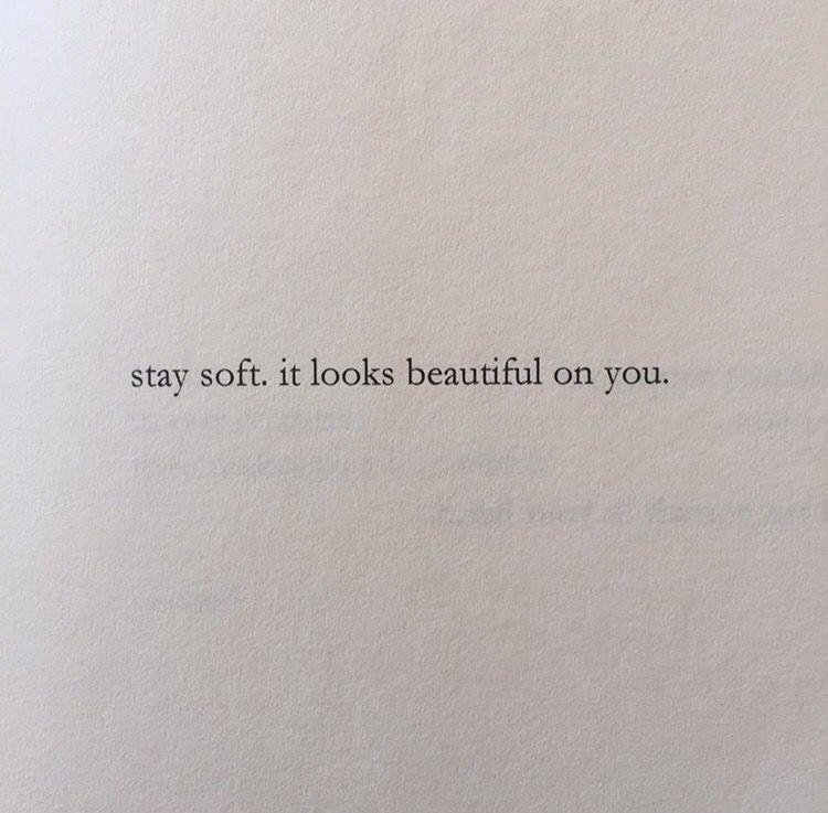 It looks beautiful on you. [nayyirah waheed]