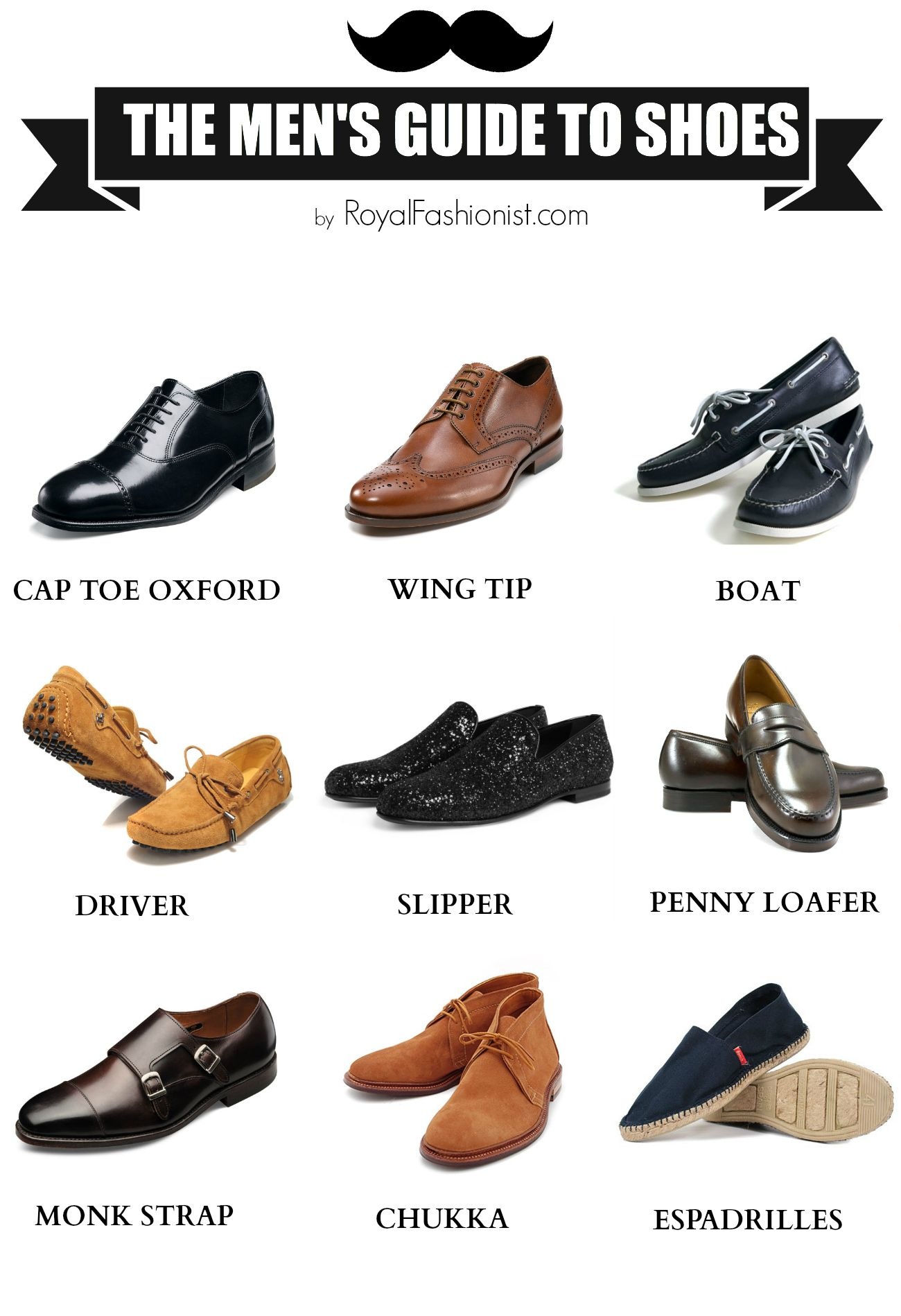 The 9 Shoes Every Man Should Own ( Complete Your Wardrobe ) | The ...