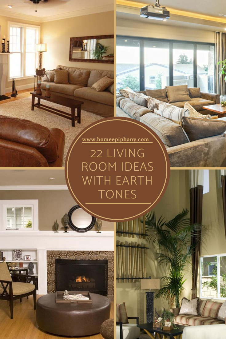 22 Living Rooms With Earth Tones Earth Tone Living Room