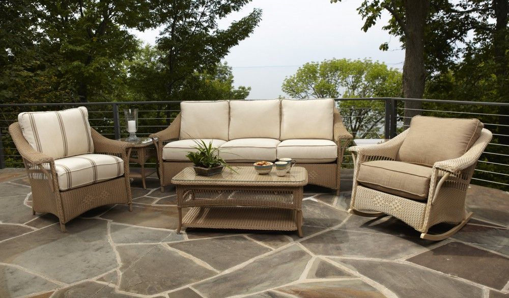 nantucket collection all weather wicker for dining or conversation rh pinterest com lloyd outdoor chairs lloyd outdoor chairs