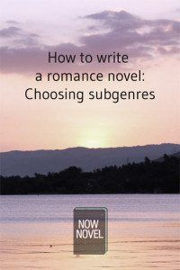 How to write a romance novel: Choosing subgenres