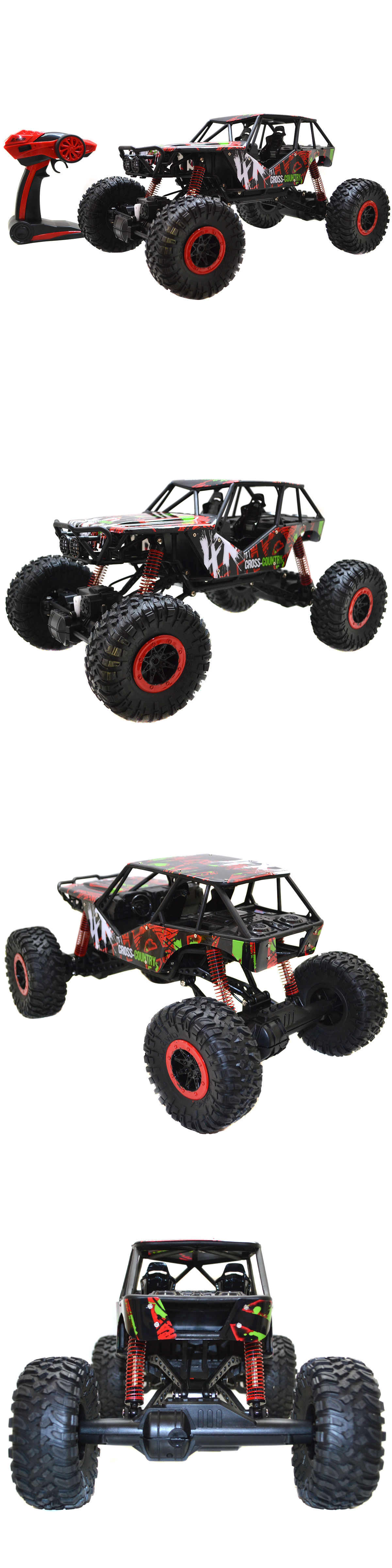 Cars Trucks and Motorcycles 182183 1 10 Scale 2.4Ghz 4