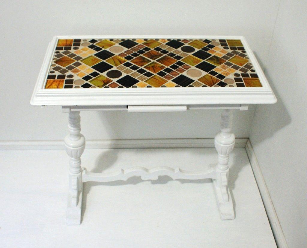 Tile Table Top Designs : Tile Table Top Designs Mosaic Tile Table Tops  ECraft Studio On