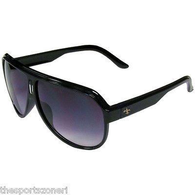 New Orleans Saints Malibu Aviator Sunglasses Visit our website for more: www.thesportszoneri.com