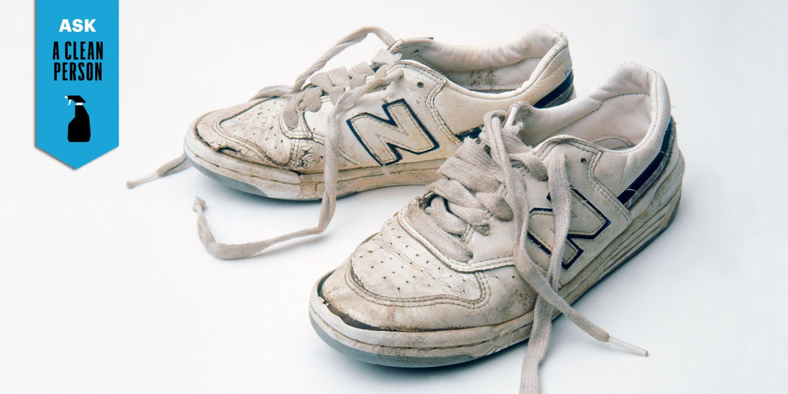 How to clean white trainers with these simple hacks | Daily