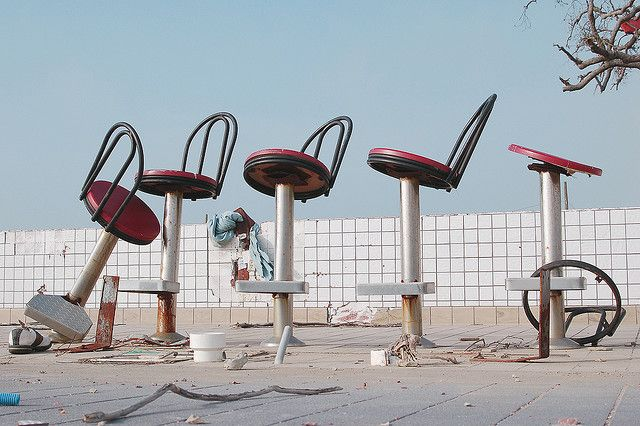 Waffle House Long Beach After Katrina Have A Seat By Dominic Mercier Via Flickr Mississippi Long Beach Mississippi Hurricane Katrina