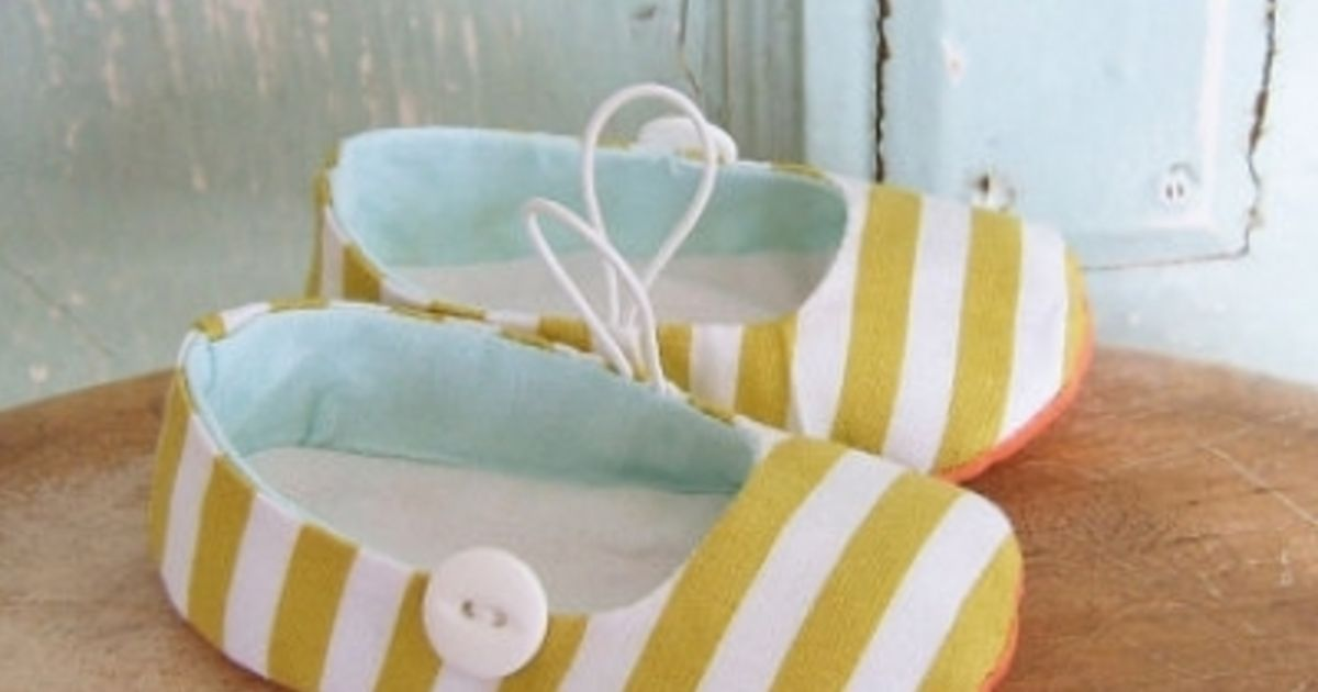 8 DIY baby shoes to make
