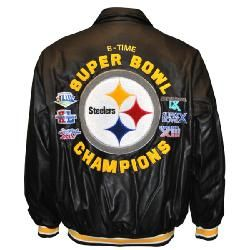 competitive price 5a5bb 8daa2 SALE Pittsburgh Steelers Six-Time Super Bowl Champions Faux ...