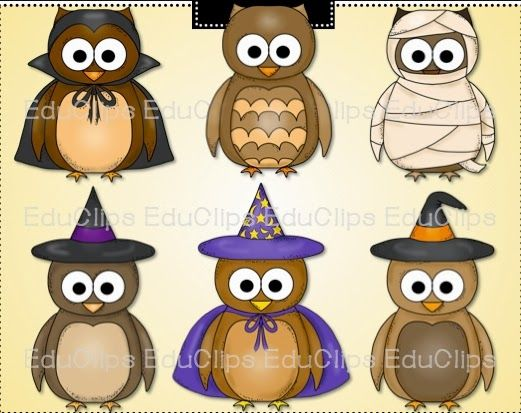 Free October Activities and Printable Resources | Owl clip ...
